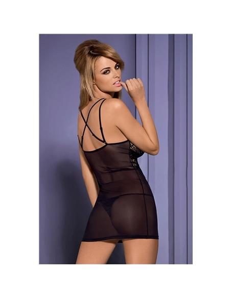 Camisa De Noite E Tanga Intensa Obsessive - 36-38 S/M - PR2010332157