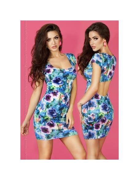 Mini Vestido Cr-3683 Azul - 36-38 S/M #1 - PR2010323636