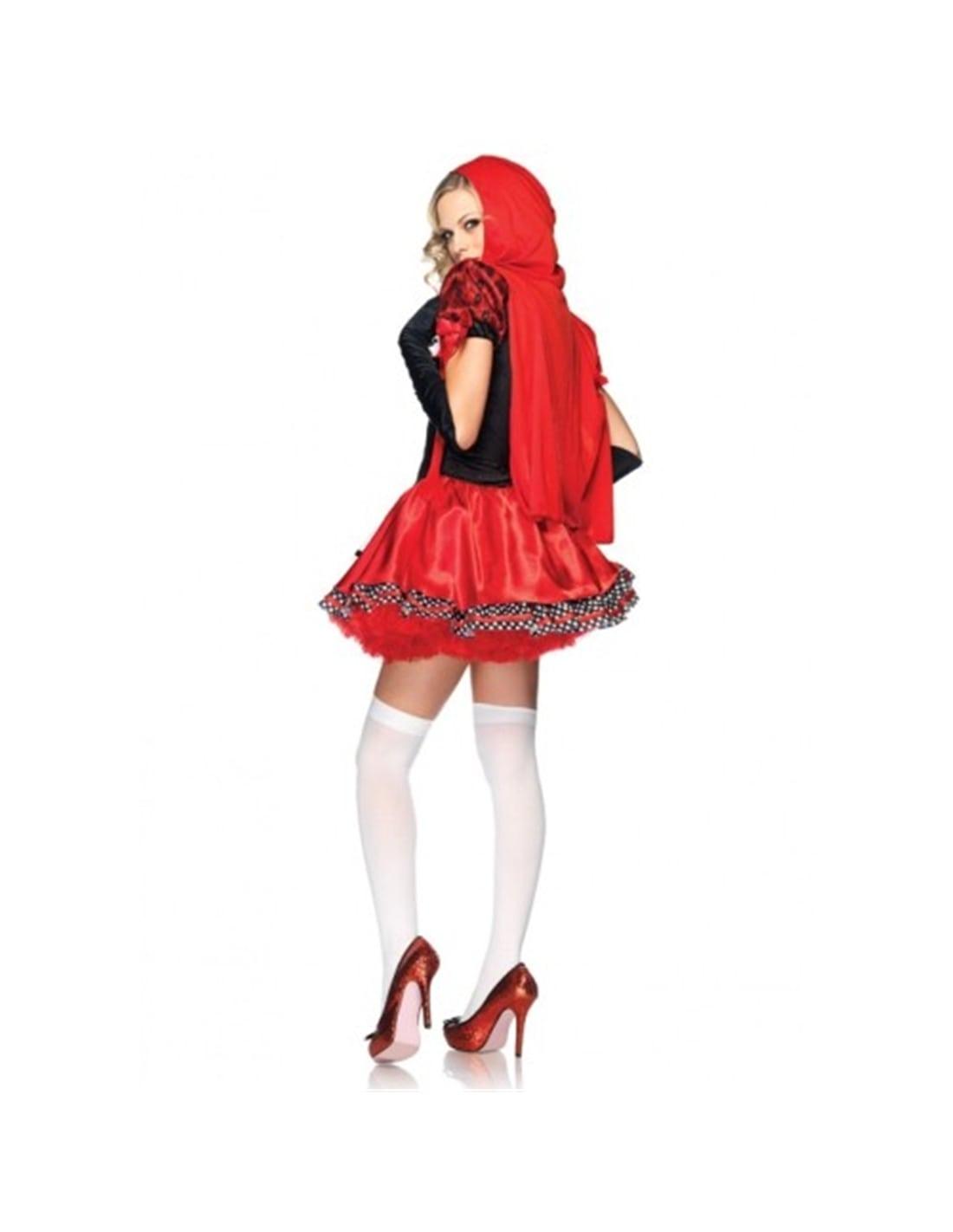 Fantasia de Capuchinho Vermelho Divine Miss Red - 40 L - PR2010304935