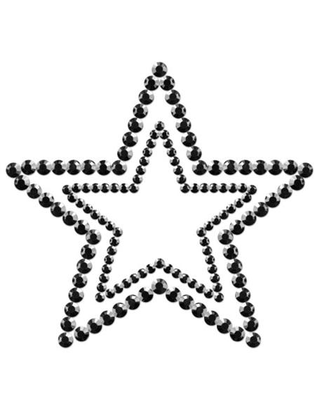 Tapa Mamilos Mimi Star Bijoux Indiscrets Pretos #1 - PR2010324321
