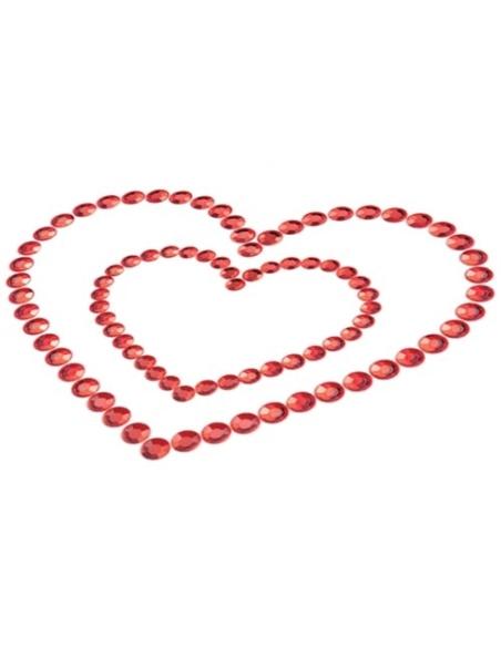 Tapa Mamilos Mimi Heart Bijoux Indiscrets Vermelhos #1 - PR2010324325