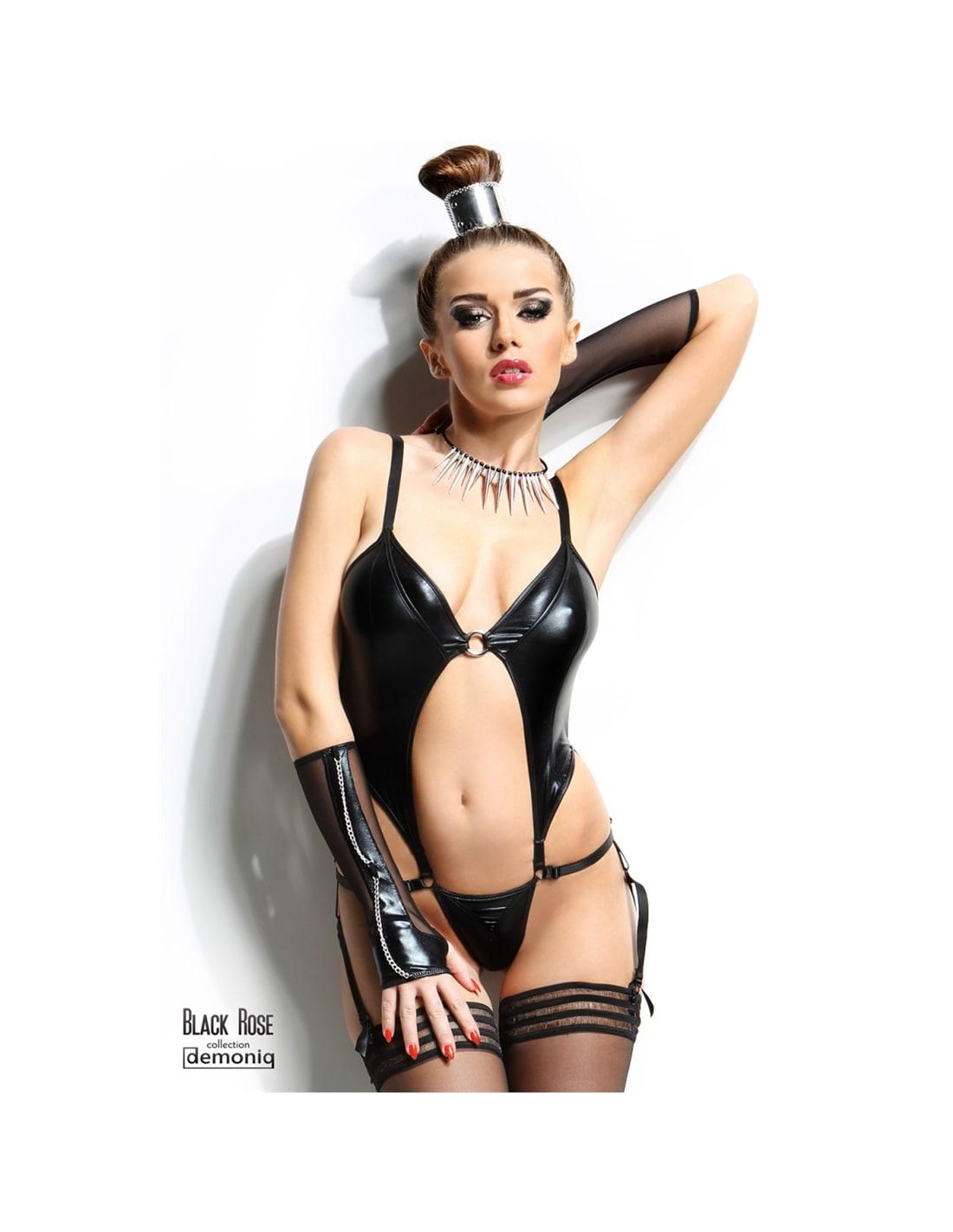 Body Nadine Demoniq Preto - 36-38 S/M - PR2010339678