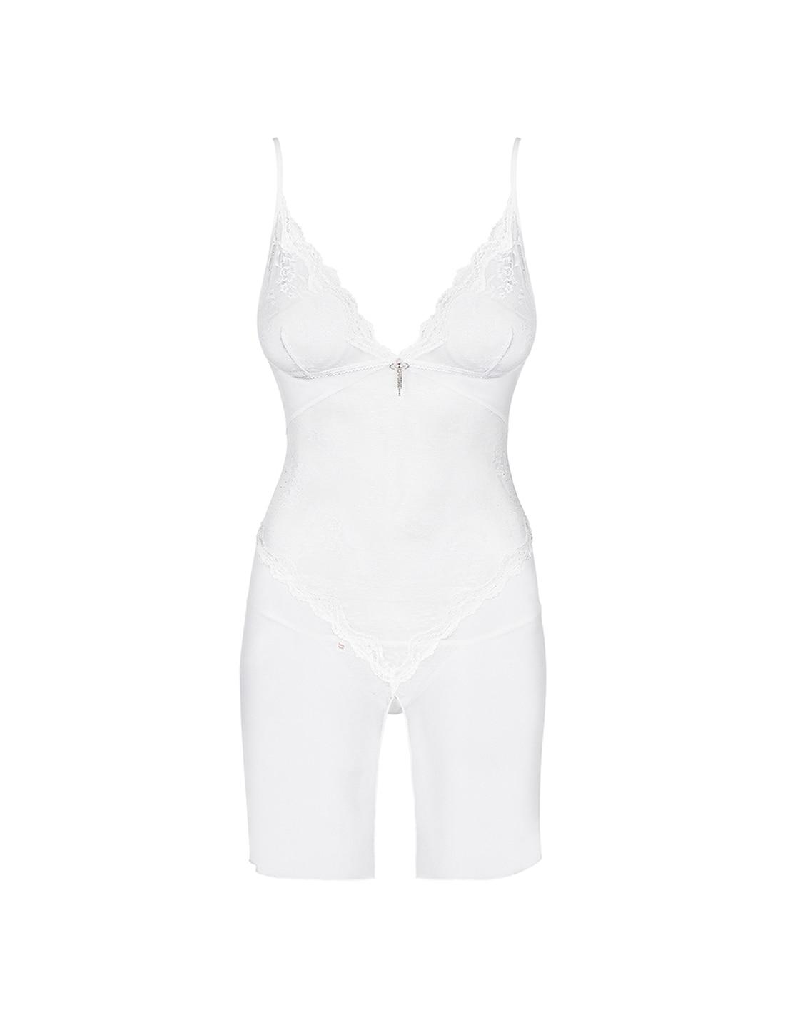 Camisa de Noite Charms Obsessive Branca - 36-38 S/M - PR2010340094