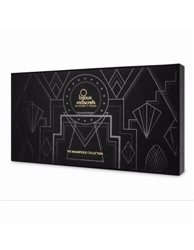 Colar Metálico com Franjas The Magnifique Collection Bijoux Indiscrets Dourado - PR2010345994